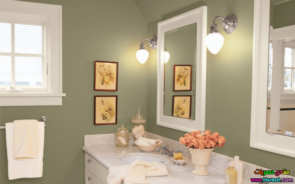 enchanting-bathroom-colors-idea-olive-green-wall-paint-color-499829.jpg